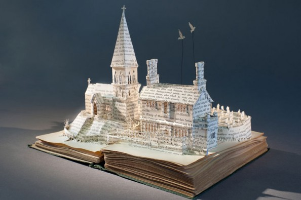 Book Sculptures 1