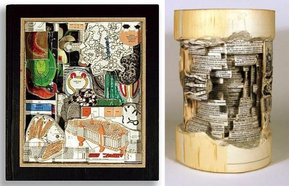 Book Sculptures Brian Dettmer 1