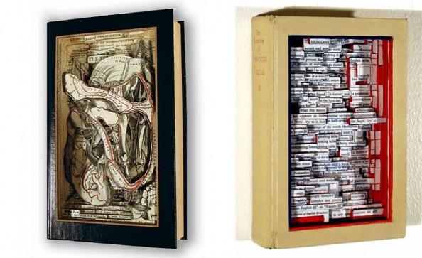 Book Sculptures Brian Dettmer 2