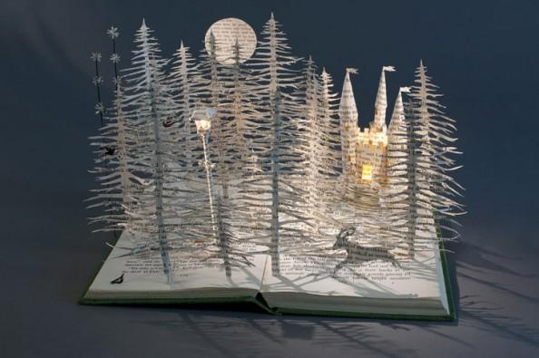 Book Sculptures Su BlackWell 2