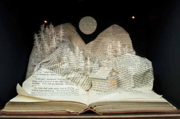 Book Sculptures Su BlackWell 3