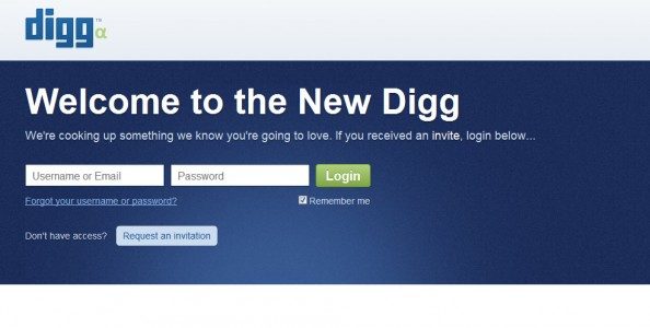 Welcome to the New Digg