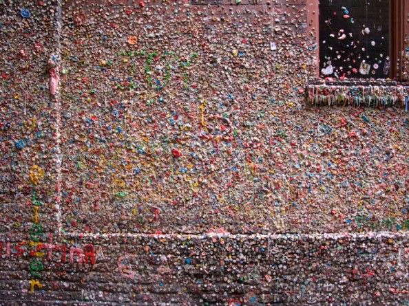 Gum Wall Seattle 2