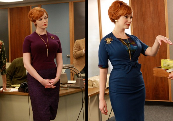 Gorgeous Mad Men Outfits Joan Halloway 2