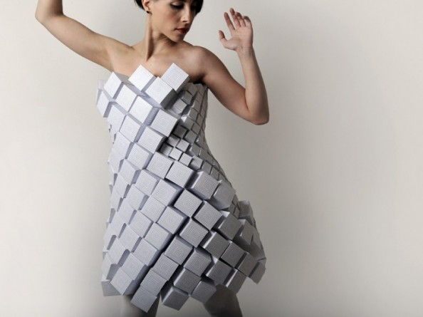 Amila Hrustic Geometric Dresses Platos Collection 1