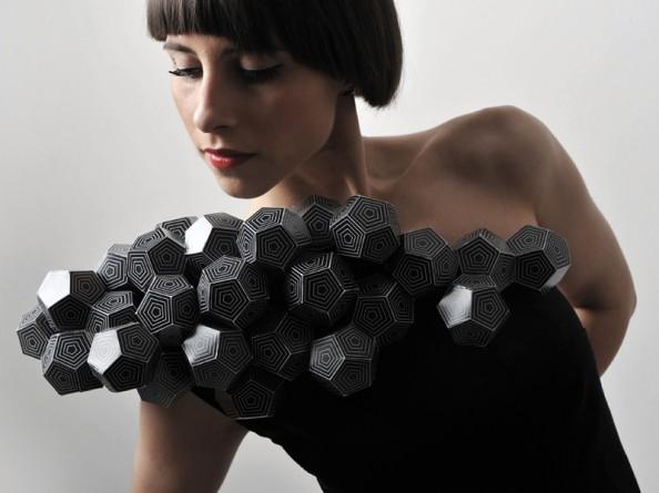 Amila Hrustic Geometric Dresses Platos Collection 2
