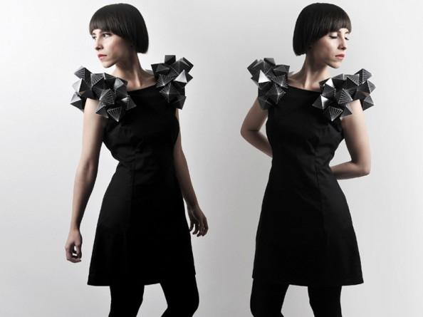 Amila Hrustic Geometric Dresses Platos Collection 3