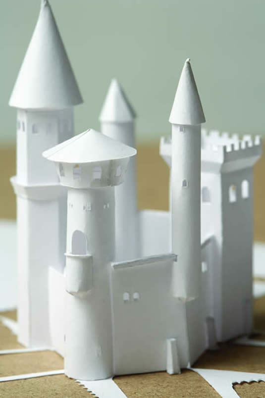 Petter Callesen Paper Art Impenetrable Castle