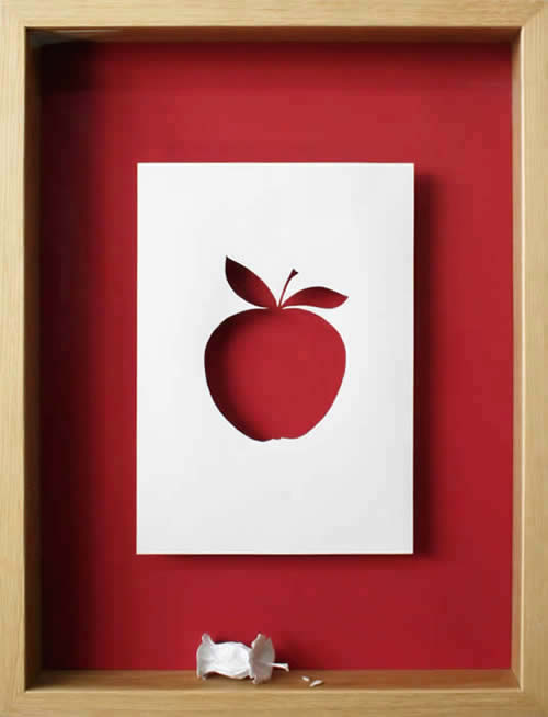Petter Callesen Paper Art The Core of Everything