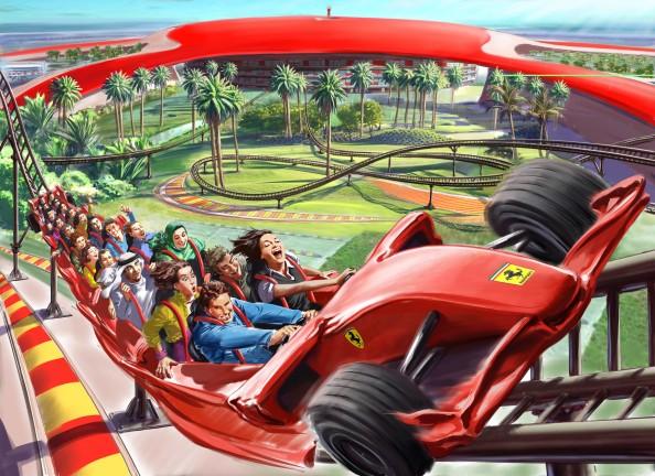 Ferrari World Abu Dhabi 1