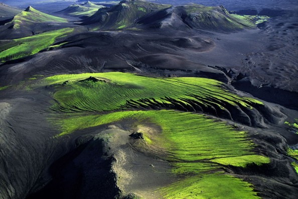 Yann Arthus Bertrand Iceland Mountains Coutryside