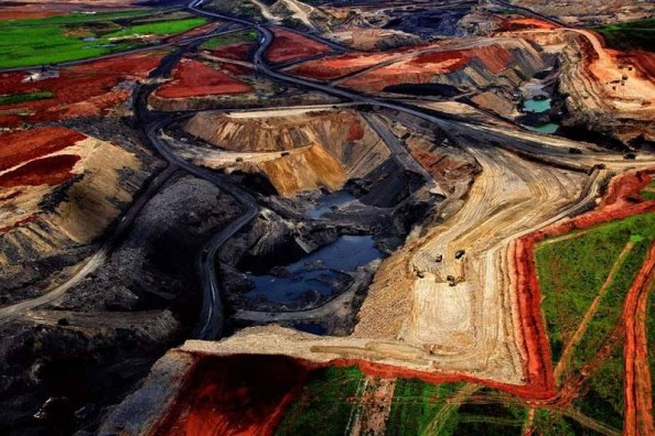 Yann Arthus Bertrand Coal Mine South Africa