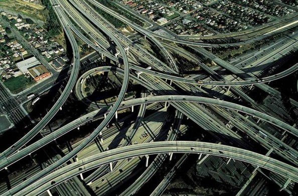 Yann Arthus Bertrand Los Angeles Freeway