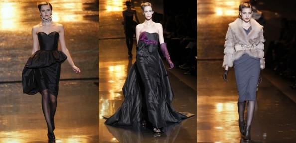 Badgley Mischka RTW Fall 2011