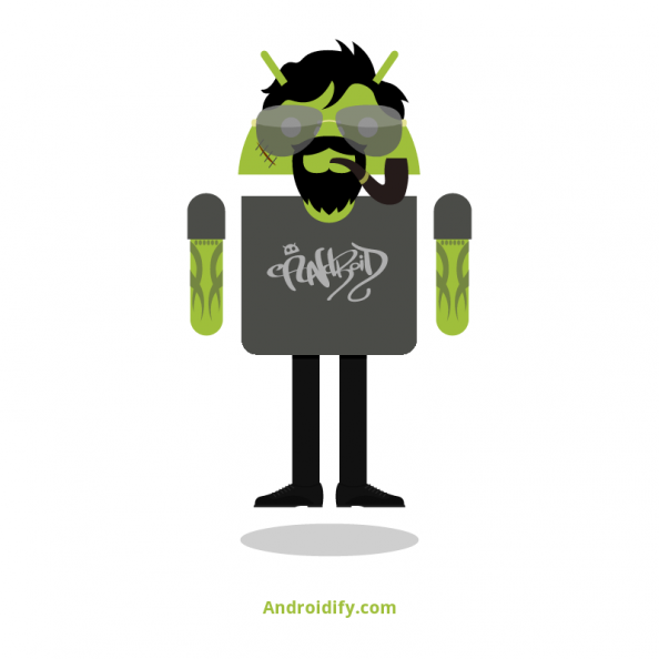 Yke avatar on Androidify