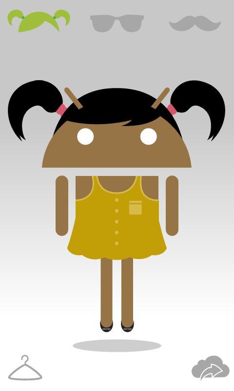 Androidify avatar preview