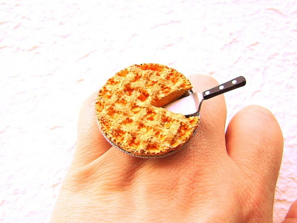 Food rings Souzou Creations Kawaii Cute Japanese Ring Pie