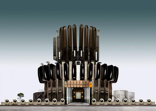 Industrial Parkland David Trautrimas Organ Factory