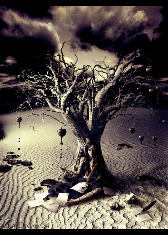 Writing Metaphors by decrepitude