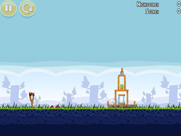 Angry Birds Desktop Game View