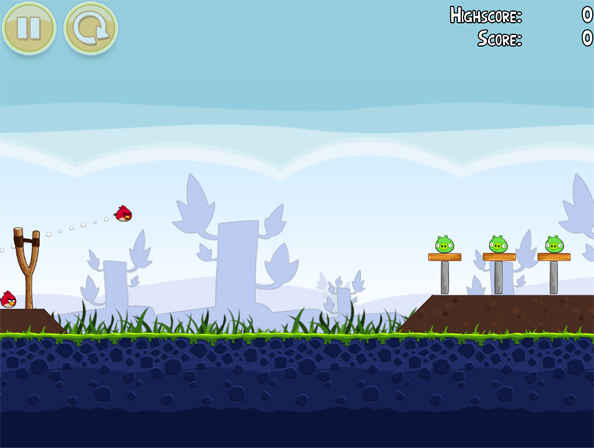 Angry Birds Desktop Gameplay
