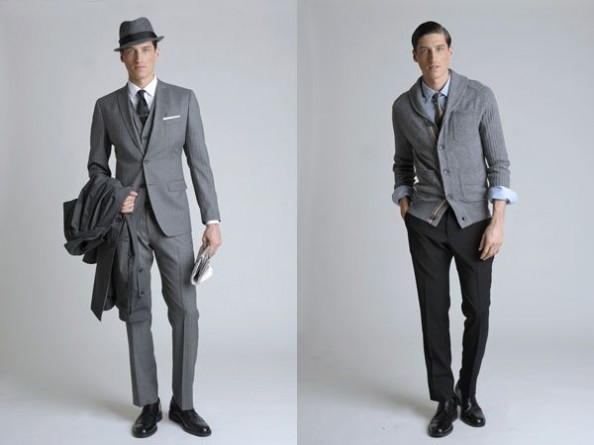 Banana Republic Mad Men inspired  collection 2011 Men 1