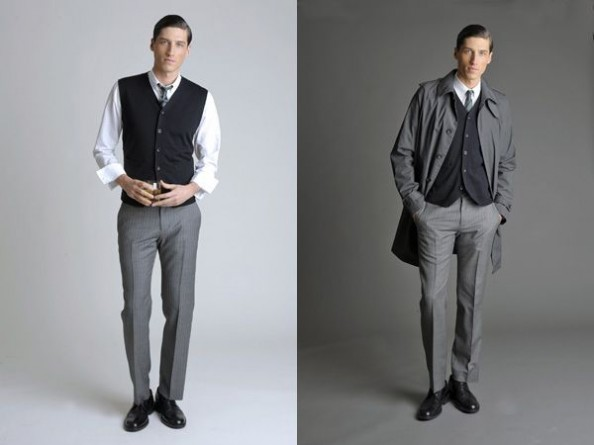 Banana Republic Mad Men inspired  collection 2011 Men 2