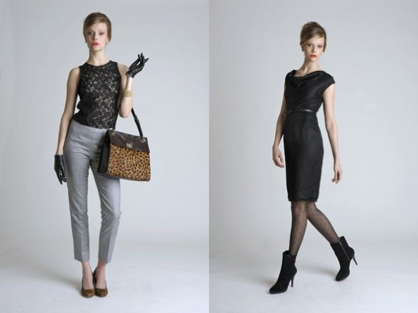 Banana Republic Mad Men inspired collection 2011 Women 1