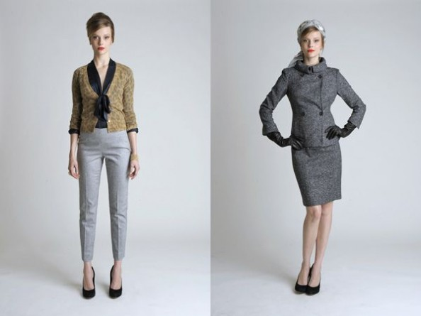 Banana Republic Mad Men inspired  collection 2011 Women 2