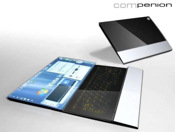 Compenion Laptop Concept