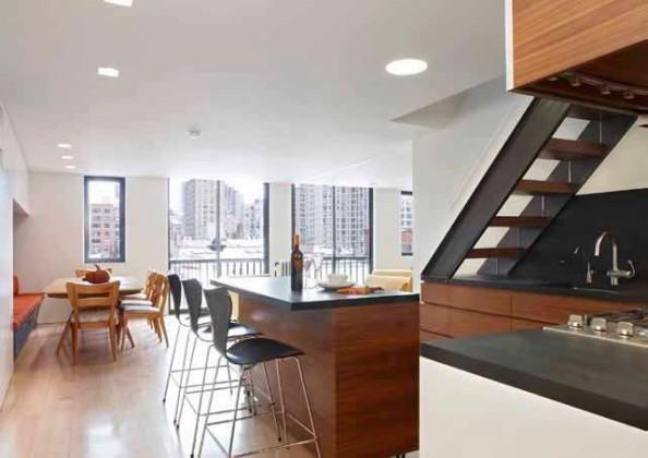Gramercy Duplex Residence Slade Architecture New York 5