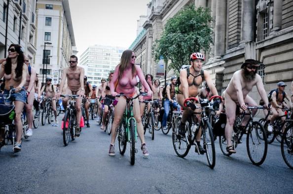 UK World Naked Bike Ride June 2011 10
