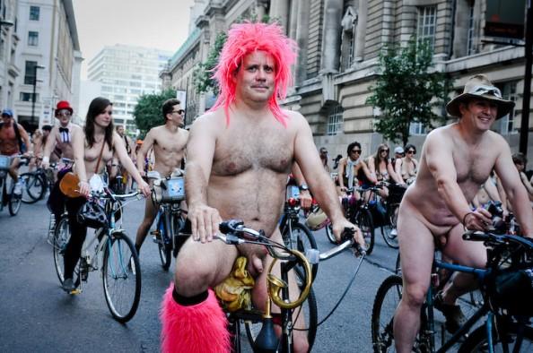 UK World Naked Bike Ride June 2011 11