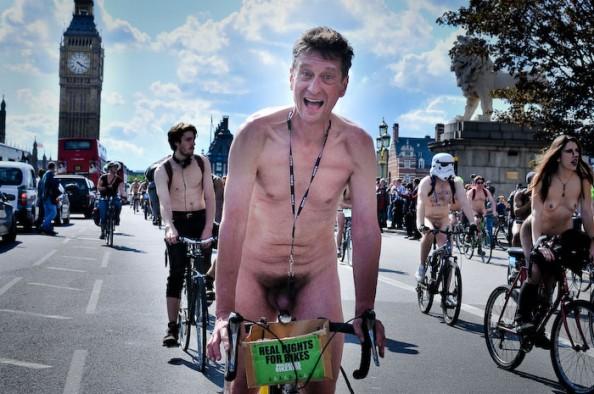 UK World Naked Bike Ride June 2011 12
