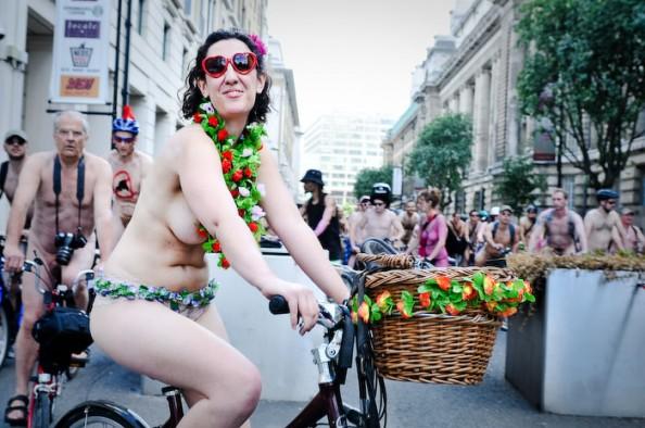 UK World Naked Bike Ride June 2011 13