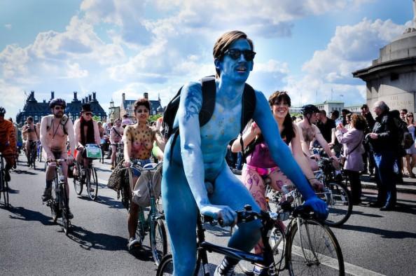 UK World Naked Bike Ride June 2011 5