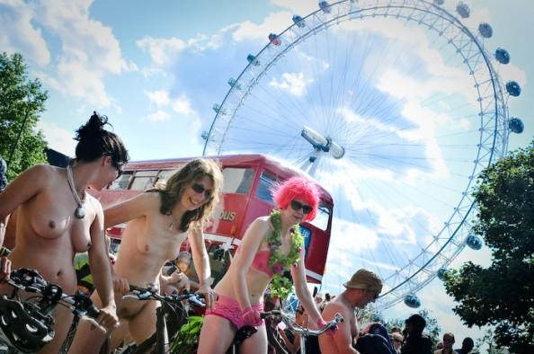 UK World Naked Bike Ride June 2011 8