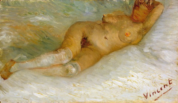 Reclining Nude by Vincent Van Gogh