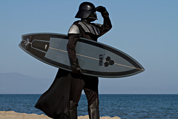 Darth Vader surf board