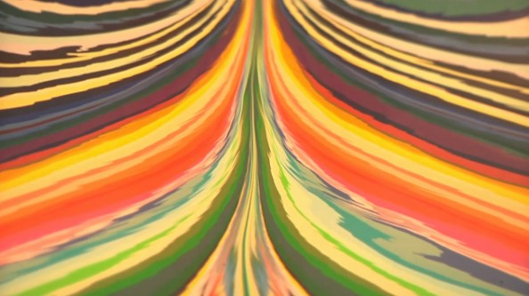 Tall Painting by Holton Rower