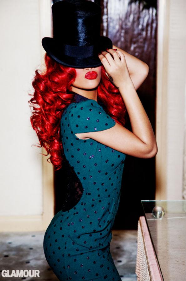 Rihanna for Glamour September 2011 II