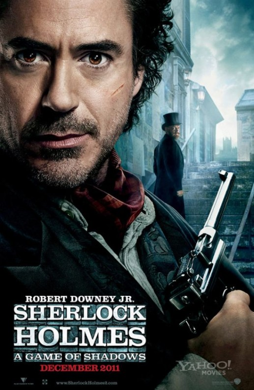 Sherlock Holmes A Game of Shadows Robert Downey Jr. Poster