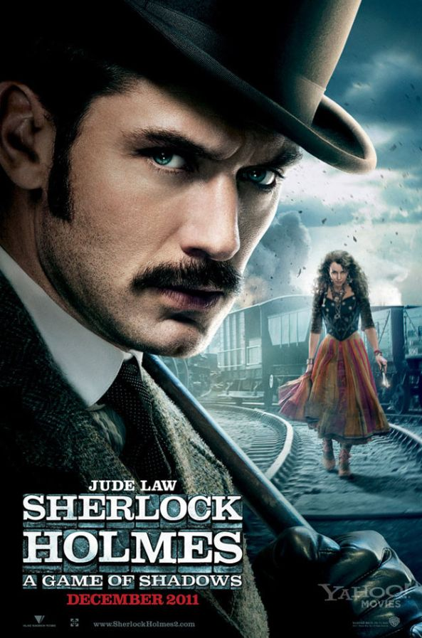 Sherlock Holmes A Game of Shadows Jude Law Poster