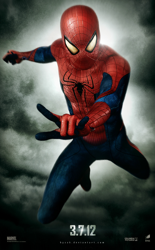 The Amazing Spiderman 2012 Movie Poster