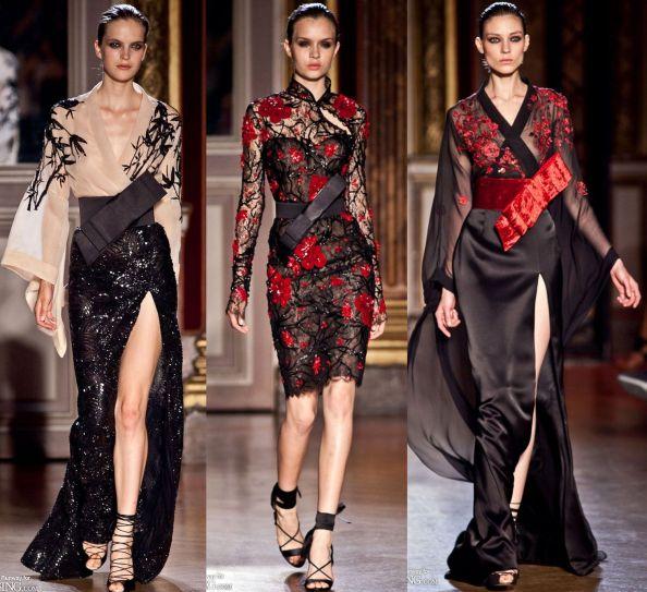 Zuhair Murad Autumn 2011 Haute Couture Japanese Influence