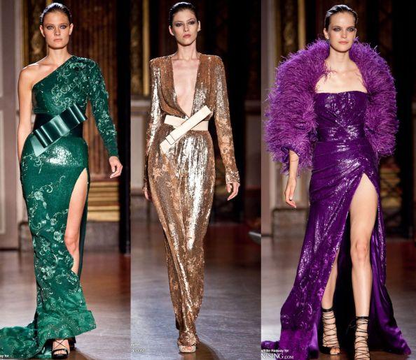 Zuhair Murad Autumn 2011 Haute Couture Shiny Materials