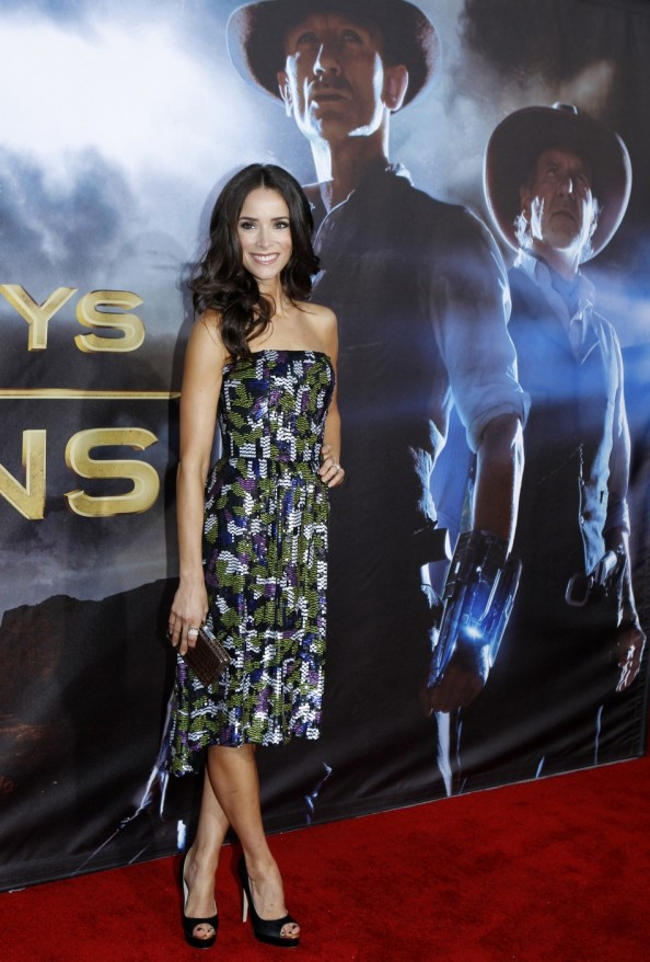 Abigail Spencer @ Cowboys and Aliens World Premiere