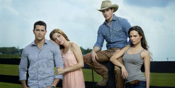 Jesse Metcalfe Julie Gonzalo Josh Henderson Charlene Tilton Dallas Reboot Promotional Picture