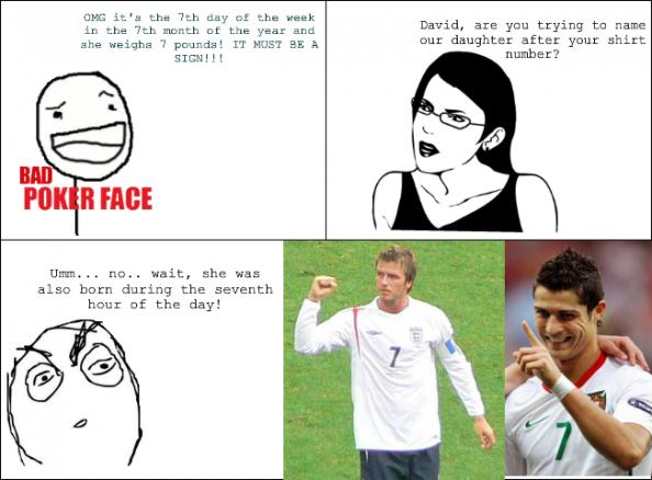 Beckham meme rage comic harper seven