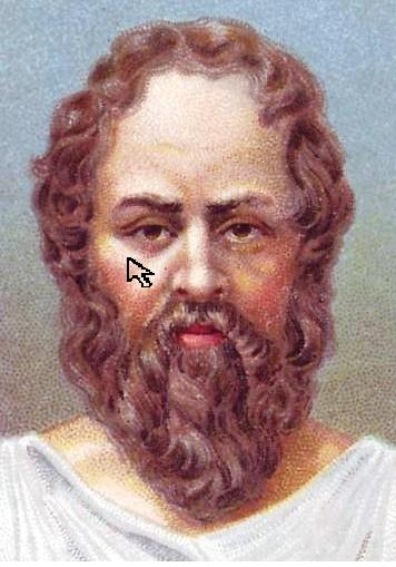 socrates temporary tattoo philosopher mouse pointer